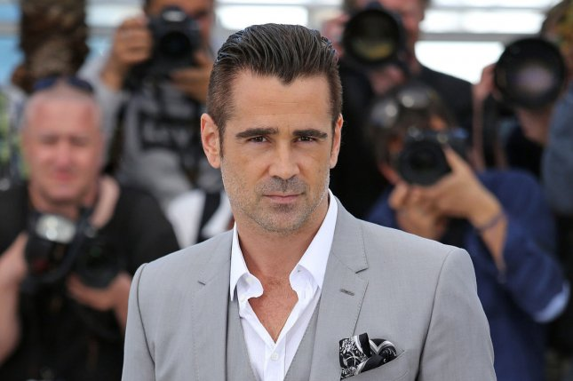 Colin Farrell at a photocall for 'The Lobster' at the 2015 Cannes International Film Festival on May 15, 2015. Photo by David Silpa/UPI