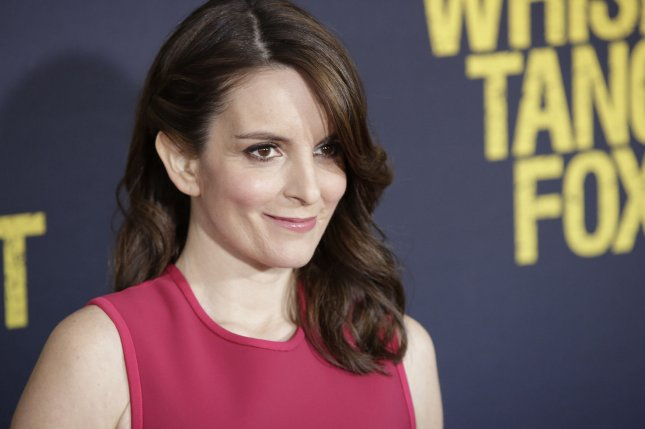 Tina Fey arrives at the Whiskey Tango Foxtrot world premiere on March 1 in New York City. Photo by John Angelillo/UPI