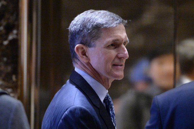 Lt. Gen. Michael Flynn, President-Elect Donald Trump's pick for national security adviser, has met with South Korea's national security advisor Kim Kwan-jin to discuss response to North Korea's nuclear provocations. Pool Photo by Anthony Behar / UPI