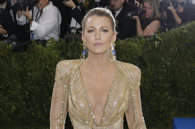 Blake Lively attends the Costume Institute Benefit at the Metropolitan Museum of Art on May 1. The actress played Bridget Vreeland in The Sisterhood of the Traveling Pants. File Photo by John Angelillo/UPI