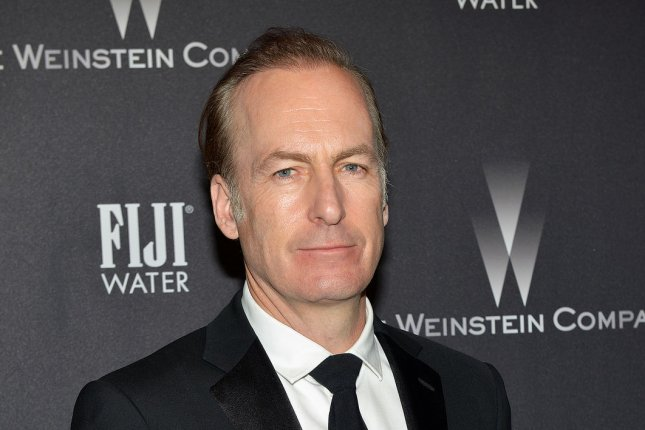 Better Call Saul star Bob Odenkirk arrives at the Weinstein Company and Netflix 2017 Golden Globes after party at the Beverly Hilton in Beverly Hills on January 8. AMC announced this week it has ordered a fourth season of his series. File Photo by Christine Chew/UPI