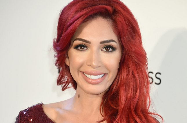 Farrah Abraham attends the Elton John AIDS Foundation Academy Awards viewing party on Sunday. Photo by Gregg DeGuire/UPI