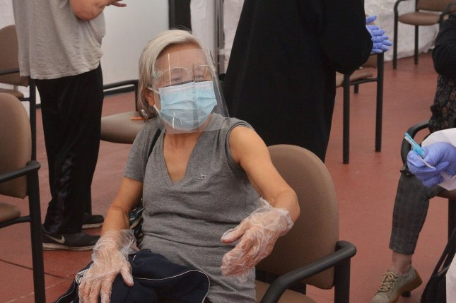 Shielding seniors and others at high risk for COVID-19 does little to limit the dangers if other measures aren't in place, according to a new study. File photo by Jim Ruymen/UPI