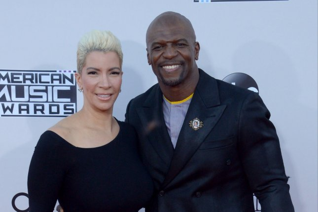 (L-R) Terry Crews pictured here with his wife Rebecca King-Crews, has shared his thoughts about Adam Venit returning to work after the actor said he was groped by the agent. File Photo by Jim Ruymen/UPI