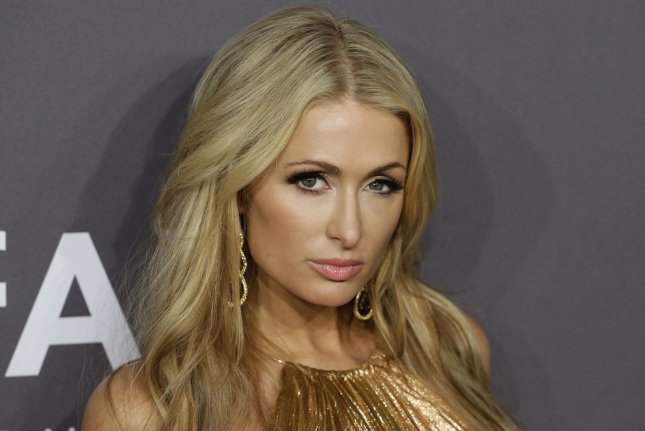 Paris Hilton promoted her song I Need You in an Instagram post Monday. File Photo by John Angelillo/UPI