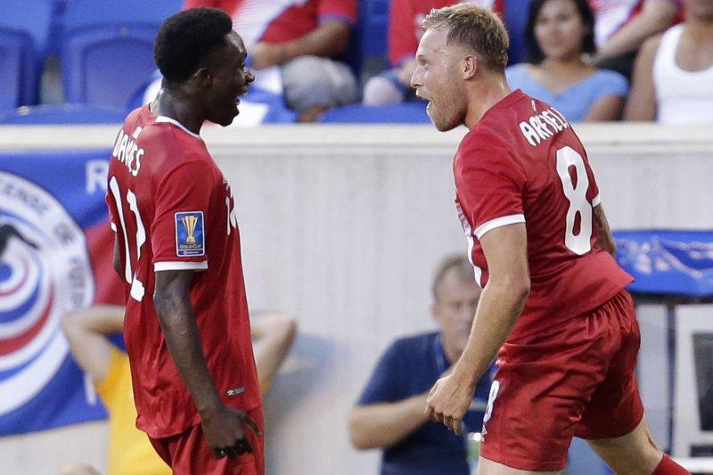 sale retailer 1fbae 75d5a Bayern Munich acquires MLS M Alphonso Davies for $22M - UPI.com