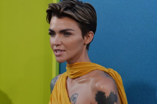 Cast member Ruby Rose attends the premiere of The Meg in Los Angeles on Monday. Photo by Jim Ruymen/UPI