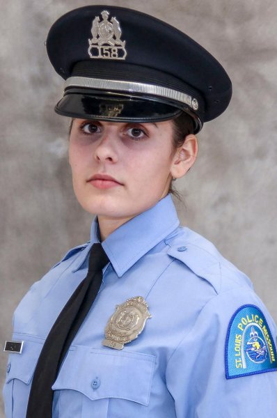 St. Louis Metropolitian Police officer Katlyn Alix was shot and killed by a fellow officer on Thursday, officials said. Photo courtesy St. Louis Metropolitian Police Department/UPI | License Photo