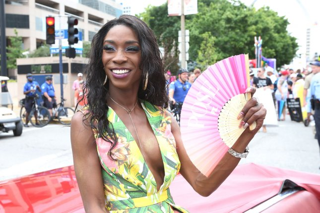 Angelica Ross will host the 2020 Presidential Candidate Forum on LGBTQ Issues on Friday. File Photo by Bill Greenblatt/UPI