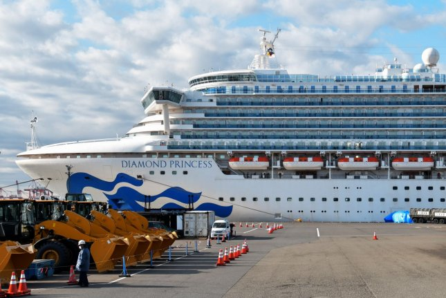 More than 300 United States citizens were evacuated from the Diamond Princess in Japan to be returned to the United States and put in quarantine for 14 days. Photo by Keizo Mori/UPI