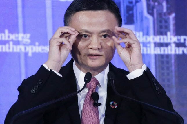 China announced Thursday it has opened an investigation into Alibaba, the world's largest online retailer founded by Jack Ma. Photo by John Angelillo/UPI