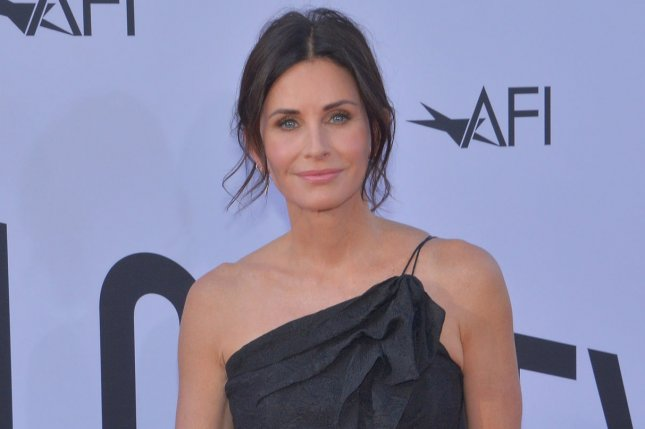 Courteney Cox has started production on her new Starz series, Shining Vale. File Photo by Jim Ruymen/UPI