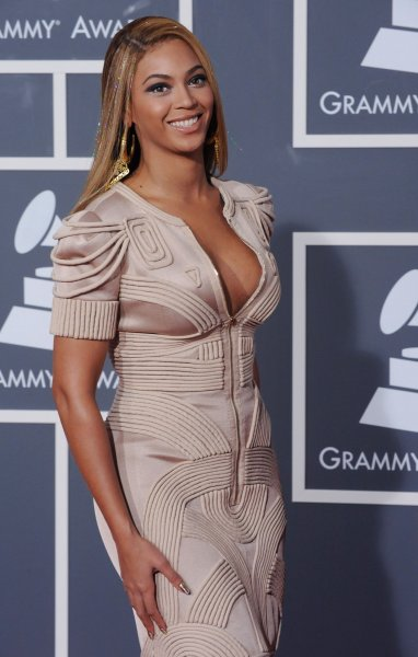Beyonce arrives at the 52nd annual Grammy Awards at Staples Center in Los Angeles on January 31, 2010. UPI/Jim Ruymen