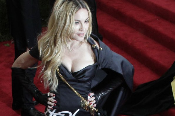 Madonna arrives on the red carpet at the Costume Institute Benefit at The Metropolitan Museum of Art celebrating the opening of China: Through the Looking Glass in New York City on May 4, 2015. File Photo by John Angelillo/UPI