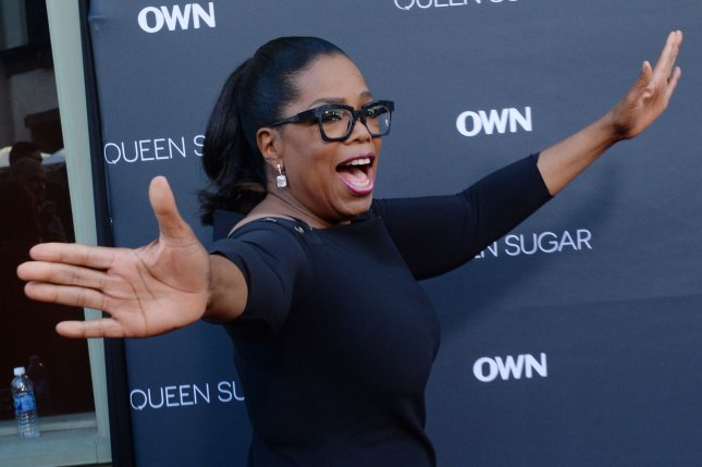Oprah Winfrey attends the premiere of OWN's television drama series Queen Sugar on August 29. Winfrey has signed on to join 60 Minutes in the fall. File Photo by Jim Ruymen/UPI