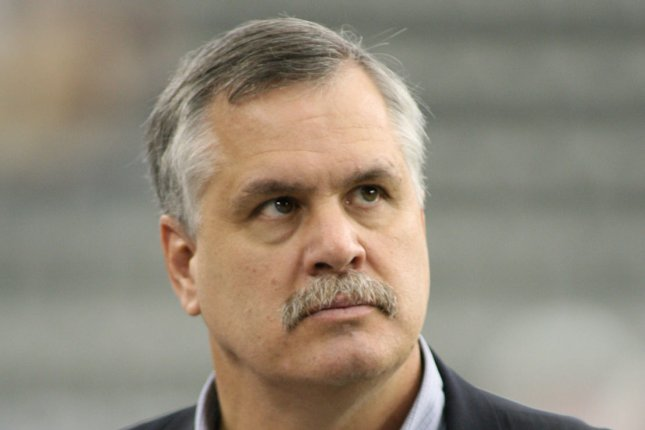 Big Ten Network analyst Matt Millen is taking a leave of absence for health reasons. File photo by Art Foxall/UPI