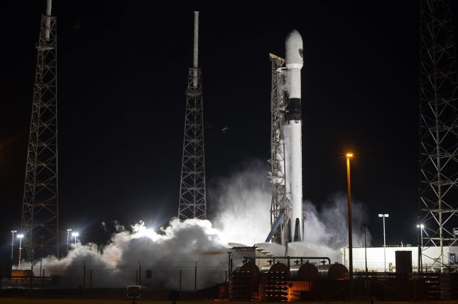 SpaceX and NASA delayed the launch of the agency's upcoming crewed mission to the first half of November, to investigate a problem with a Falcon 9 rocket similar to this one shown Oct. 2. Photo by Joe Marino/UPI