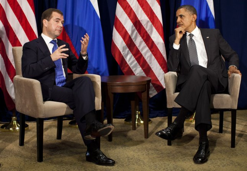 Obama to Medvedev: Missile shield talks will have to wait until after election