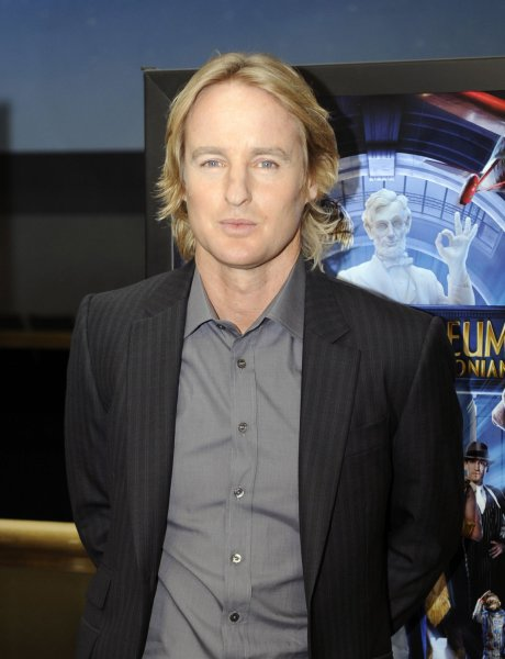 Owen Wilson arrives for a screening of Night at the Museum: Battle of the Smithsonian at the Smithsonian National Air and Space Museum in Washington on May 14, 2009. (UPI Photo/Alexis C. Glenn)