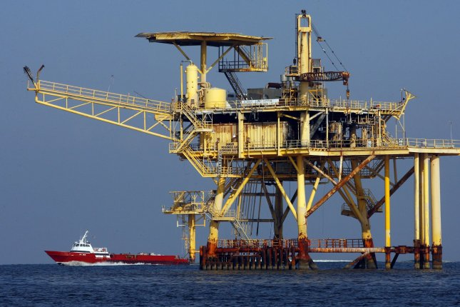 U.S. government said unfavorable market conditions may be behind lack of interest in lease sale for oil and gas acreage in the Gulf of Mexico. UPI/A.J. Sisco..