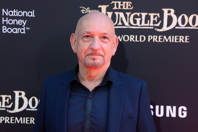 Ben Kingsley attends the premiere of The Jungle Book at the El Capitan Theatre in Los Angeles on April 4, 2016. Kingsley channeld Elton John during a performance of Rocket Man on the new season of Lip Sync Battle which premieres Wednesday night. File Photo by Jim Ruymen/UPI