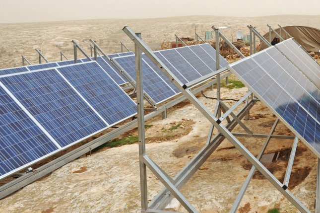 The European Union is extending financial support to Algeria to help advance a renewable energy program. File photo by Debbie Hill/UPI