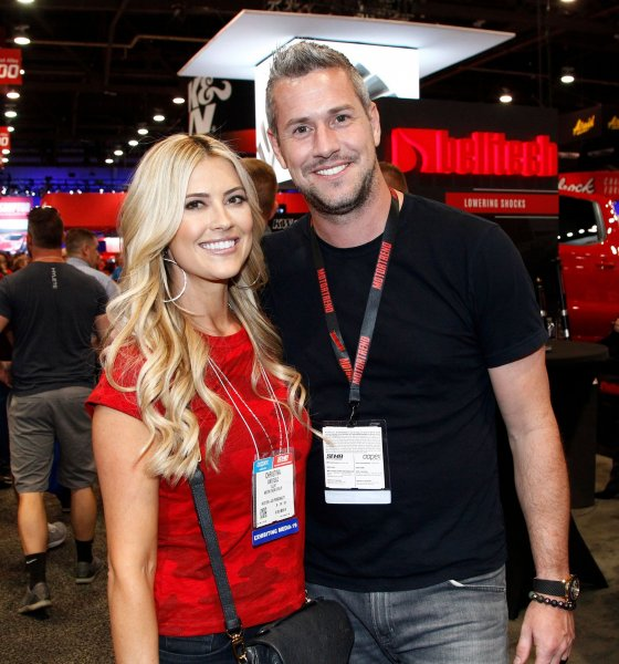 Christina Anstead (L) and Ant Anstead have split up after nearly two years of marriage. File Photo by James Atoa/UPI