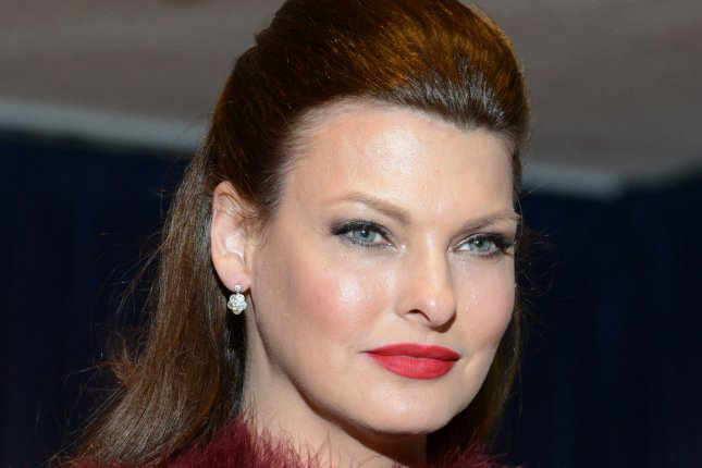 Linda Evangelista, pictured in 2014, filed a lawsuit against an aesthetics firm saying its CoolSculpting treatment left her permanently deformed. File Photo by Molly Riley/UPI
