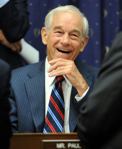Rep. Ron Paul, R-TX, who said that FEMA is in and of itself a disaster. UPI/Roger L. Wollenberg