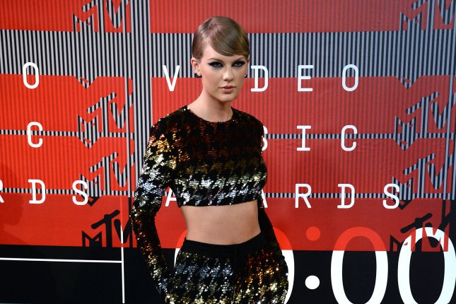 Singer Taylor Swift arrives on the red carpet for the 32nd annual MTV Video Music Awards at Microsoft Theater in Los Angeles on Aug. 30, 2015. Photo by Jim Ruymen/UPI