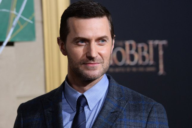 Love, Love, Love and Berlin Station star Richard Armitage is seen at the premiere of his motion-picture fantasy The Hobbit: The Battle of Five Armies in Los Angeles on December 9, 2014. File Photo by Jim Ruymen/UPI