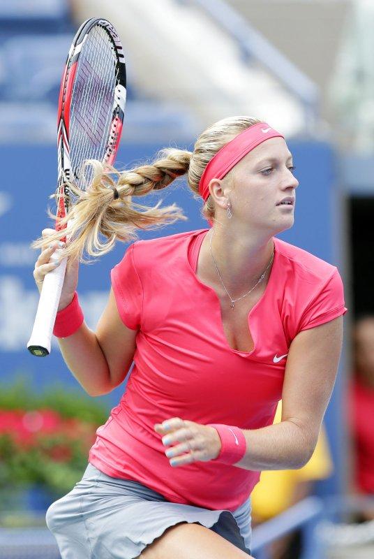 Petra Kvitova, shown at this year's U.S. Open, had a third-round win Wednesday at the China Open. UPI/John Angelillo