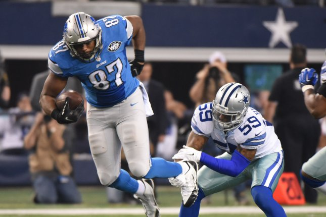 Former Lions and OK State TE Brandon Pettigrew arrested in Bricktown