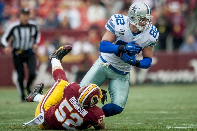 outlet store c8f77 fed97 Dallas Cowboys TE Jason Witten mulling career options - UPI.com