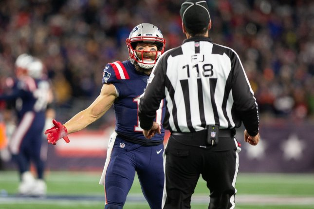 New England Patriots wide receiver Julian Edelman has scored in back-to-back games entering a Week 15 matchup against the Cincinnati Bengals. Photo by Matthew Healey/UPI