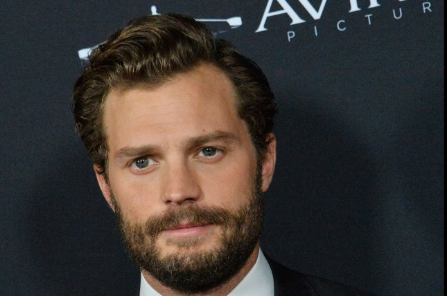 Jamie Dornan attends the premiere of A Private War in Beverly Hills in 2018. He will star in Death and Nightingales on Starz. File Photo by Jim Ruymen/UPI