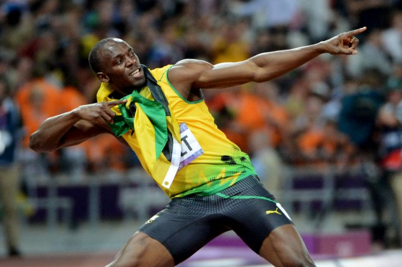 Usain Bolt ate 1000 Ch...