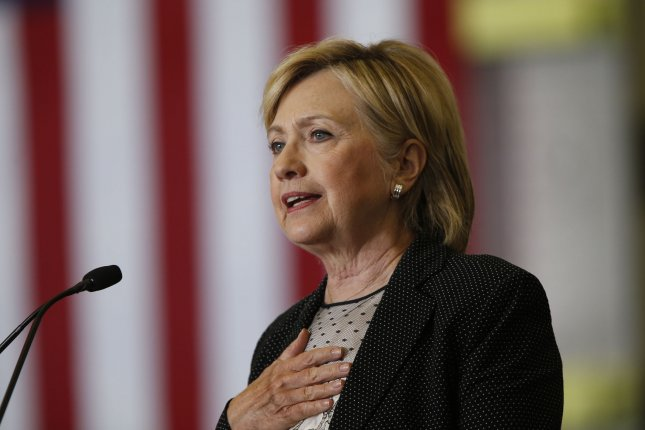 Hillary Clinton proposed raising the top estate tax rate from 40 percent to 65 percent for the wealthiest families, with inheritances of $500 million or more. Photo by Rebecca Cook/UPI