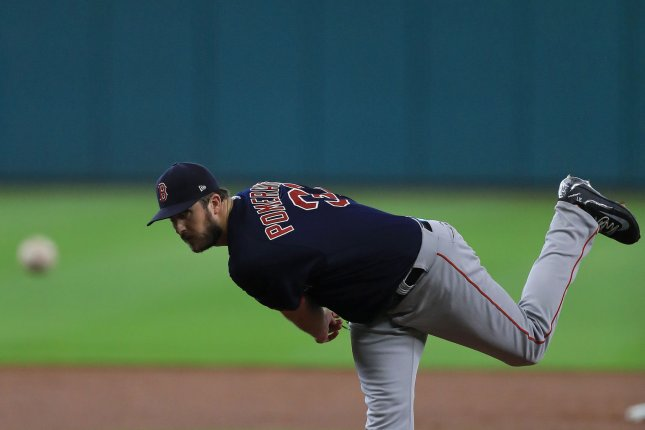 Drew Pomeranz and the Boston Red Sox take on the Baltimore Orioles on Friday. Photo by Ronald Martinez/UPI.