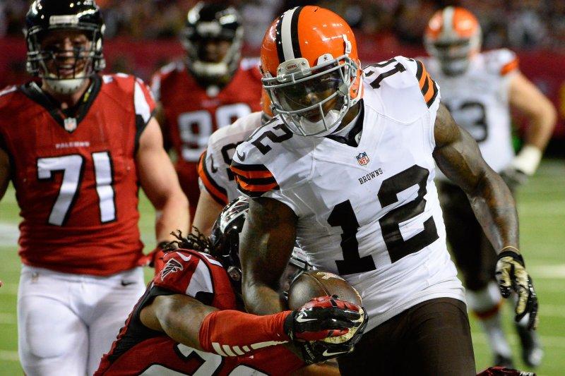 Cleveland Browns wide receiver Josh Gordon (12). File photo by David Tulis/UPI