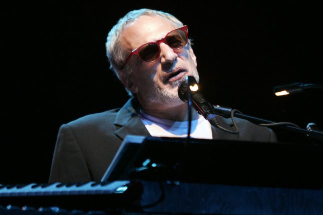 Donald Fagen with Steely Dan. The band has announced a new tour with special guest Steve Winwood. File Photo by Michael Bush/UPI