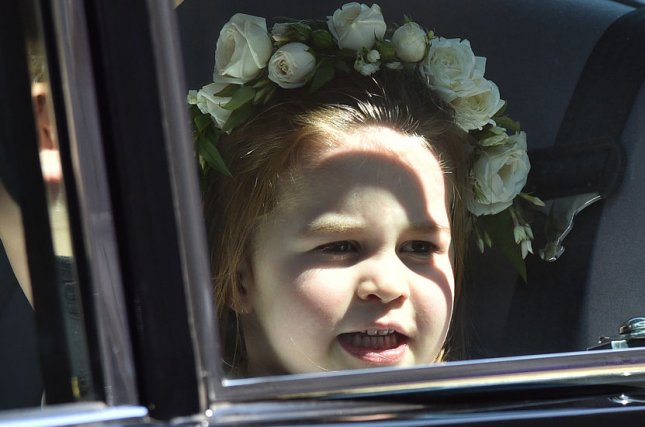 Britain's Princess Charlotte turned 6 on Sunday. Pool Photo by Lionel Hahn/UPI