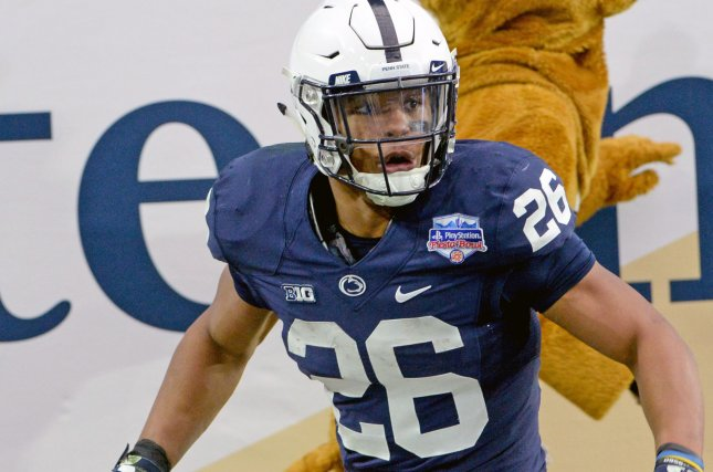 outlet store 068cf 14a29 Penn State's Saquon Barkley will enter NFL Draft - UPI.com