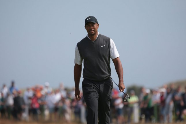 Tiger Woods Finished His Second Round At The Open