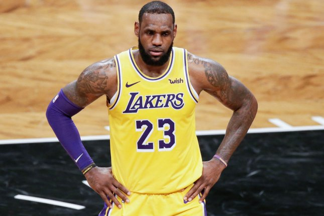 Los Angeles Lakers star LeBron James selected his roster for the NBA All-Star Game ... and even pulled off a trade. Photo by John Angelillo/UPI
