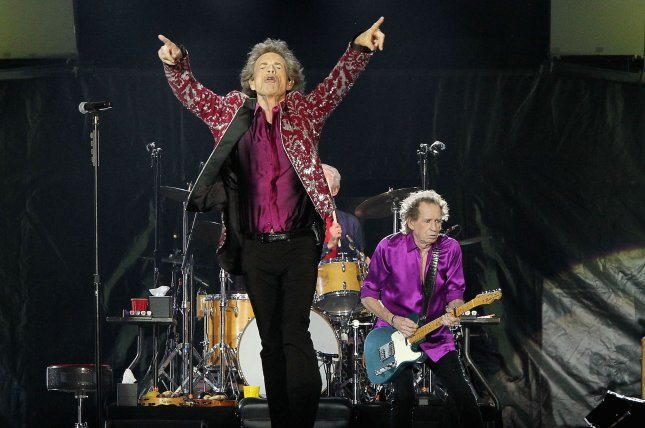 The Rolling Stones' Mick Jagger said he wants the Mars rock named after his band to be returned to Earth so he can put it on his mantle. Photo by Dave Allocca/UPI