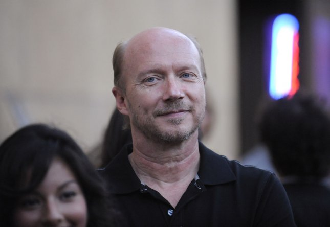 Director Paul Haggis attends the 2008 Holly Shorts Film Festival in Los Angeles on August 7, 2008. (UPI Photo/ Phil McCarten)