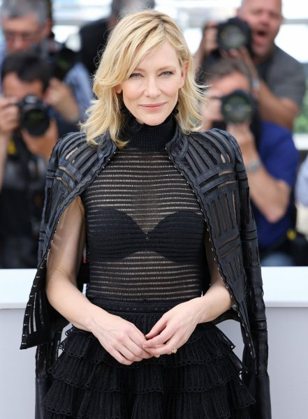 Cate Blanchett arrives at a photocall for the film Carol during the 68th annual Cannes International Film Festival in Cannes, France on May 17, 2015. Photo by David Silpa/UPI