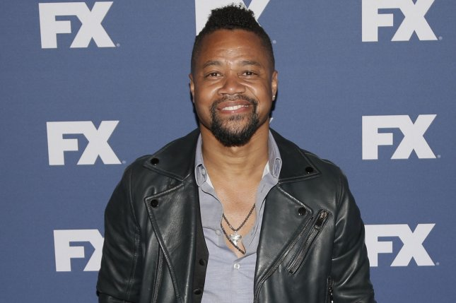 Cuba Gooding Jr. arrives on the red carpet at the FX Networks upfront screening of The People v. O.J. Simpson: American Crime Story on March 30, 2016 in New York City. Photo by John Angelillo/UPI