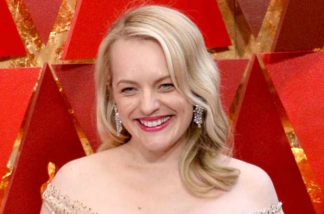 'The Handmaid's Tale star Elisabeth Moss. The drama has been nominated for a Peabody Award along with other shows such as Better Call Saul and Legion. File Photo by Jim Ruymen/UPI